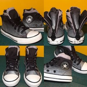 💗Sparkly CONVERSE ⭐️ All Star Sneakers Size 12